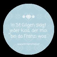 In St. Gilgen siagt jeder kloa, der moi bei da Franzi woa
