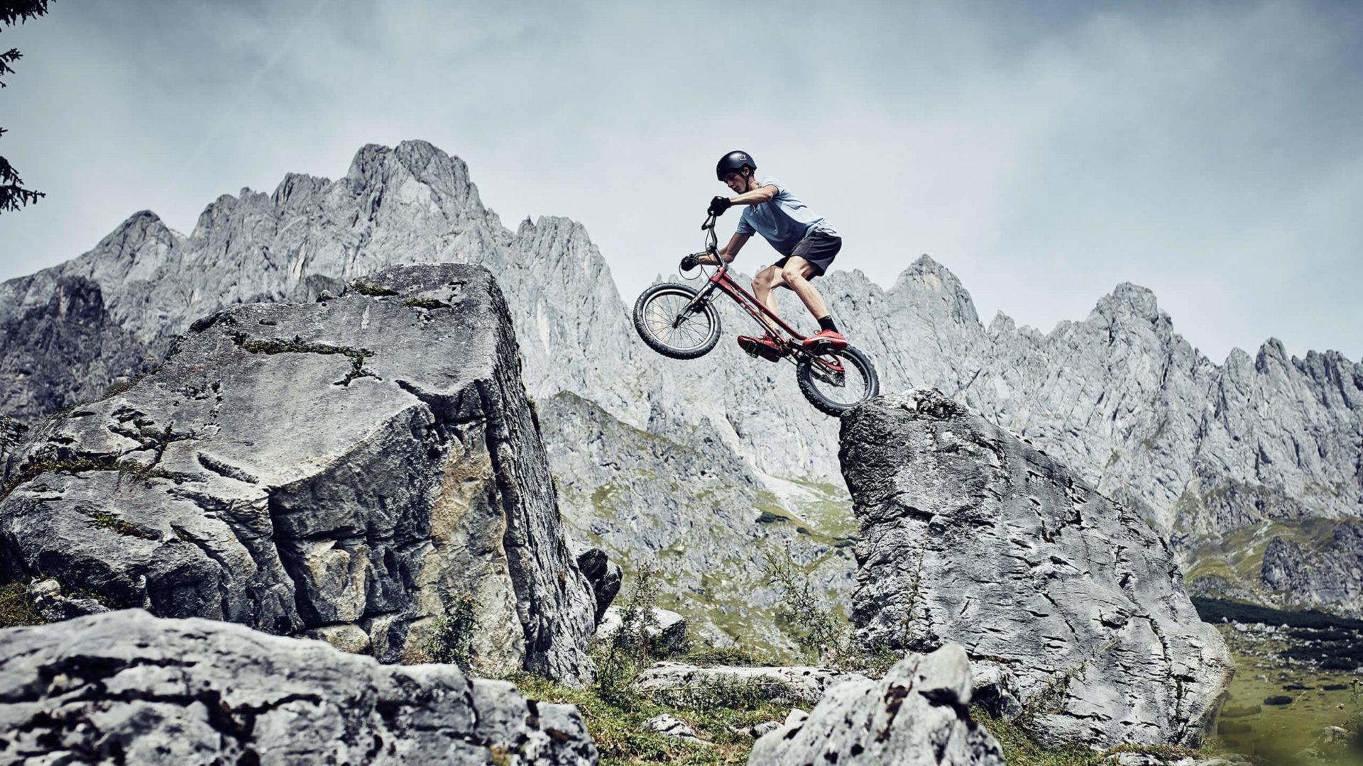 Thomas Klausner Professional Trail Biker